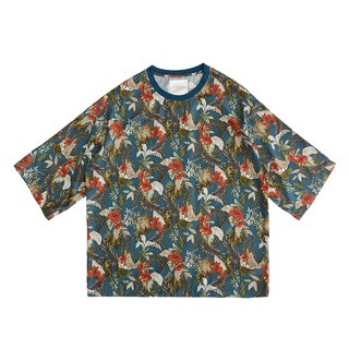 Full print loose T-shirt