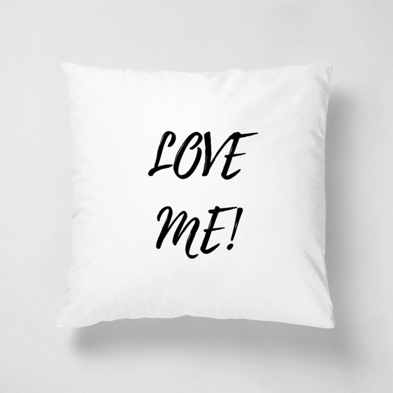 LOVE ME | 40 * 40cm short fiber pillow can be customized their favorite color