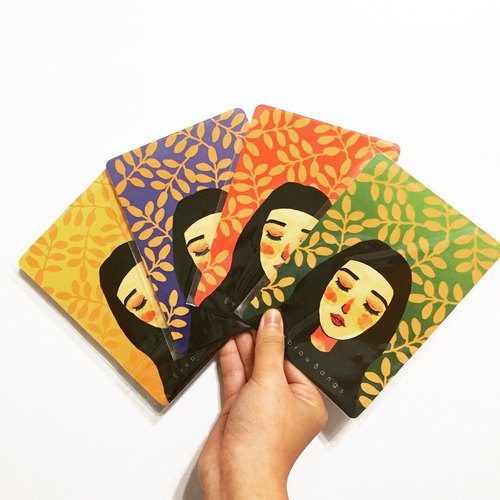 Reiki girl postcard card