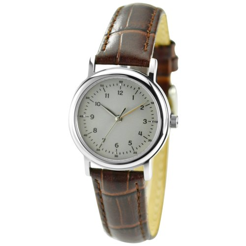 Ladies Minimalist Small Numbers Grey Face Watch Free Shipping Worldwide