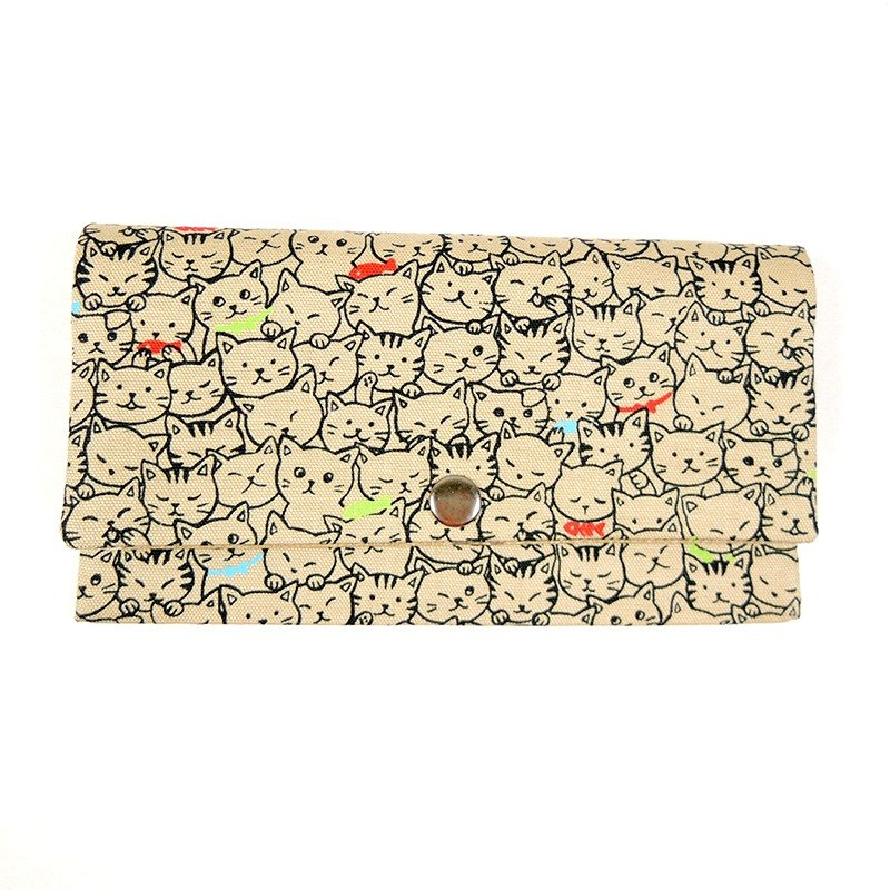 Passbook red envelopes of cash Pouch - Cute cat