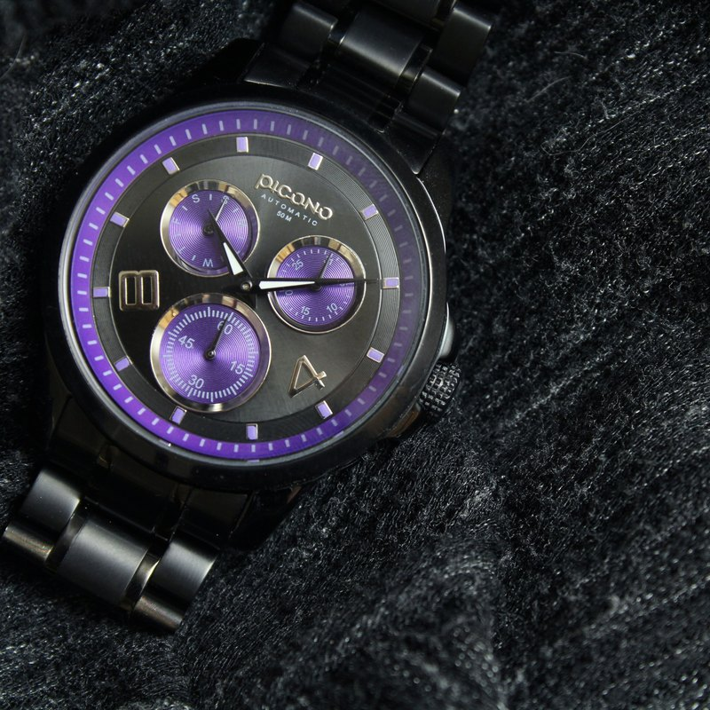 【PICONO】Fashionable / Black watch / SF-22803