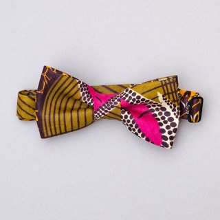 SUNDAY BEST AFRICAN WAX BOW TIE