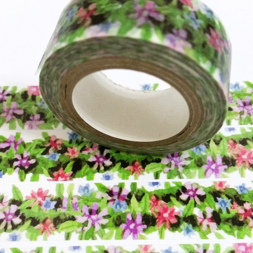 Customized Mini Washi Tape Flower Fence