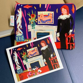 Canvas Pencil Case  ( Henri Matisse 01 )