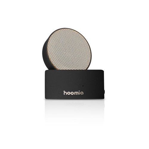 Lightweight and free hoomia good design hii rotating Bluetooth speaker - texture black
