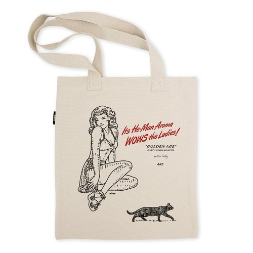 AMO®Original Tote Bags/AKE/GOLDEN AGE/Poster Lady