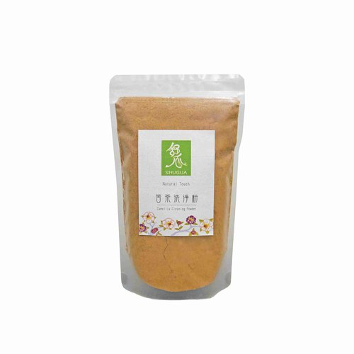 [Cleaning Shuangbao Concessional Group] bitter tea cleaning powder 200g loofah melon cloth
