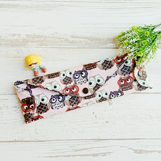 [waterproof and environmentally friendly tableware bag] owl