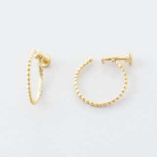 Grainy design hoop earrings / Grainy design hoop Earrings