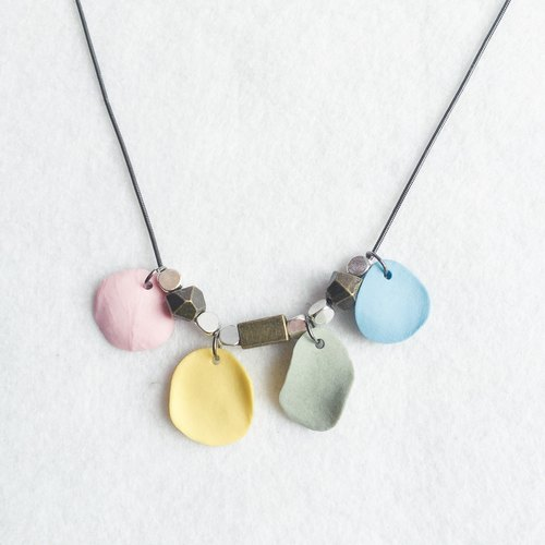 "+ ""Wagashi"" Series ~ sweet fruit ceramic necklace +"