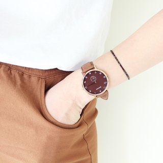 【PICONO】SPY S collection leather strap watch / YS-7203