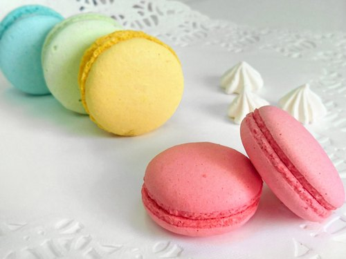 Wedding Ritual - French Raspberry Macaron [Red] -5 Box / Group