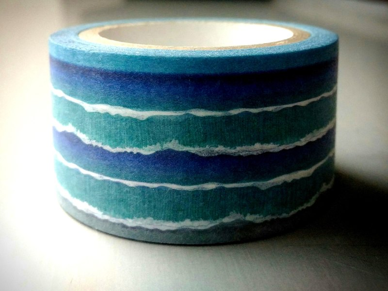 ✐ Liuyingchieh ✐ 海 ‧ ocean = and paper tape Washi Masking Tape 25 mm x 10 m original landscape landscape paper tape ~
