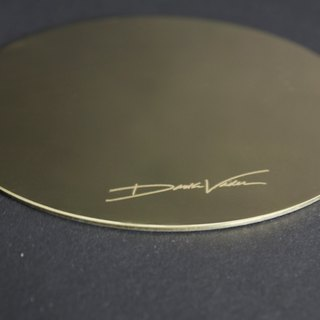 Black warrior signature brass plate