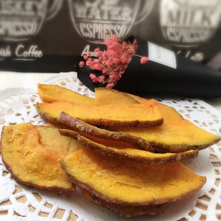 [When good fruits and vegetables meet good gods protect] pumpkin chips 100g upgraded version