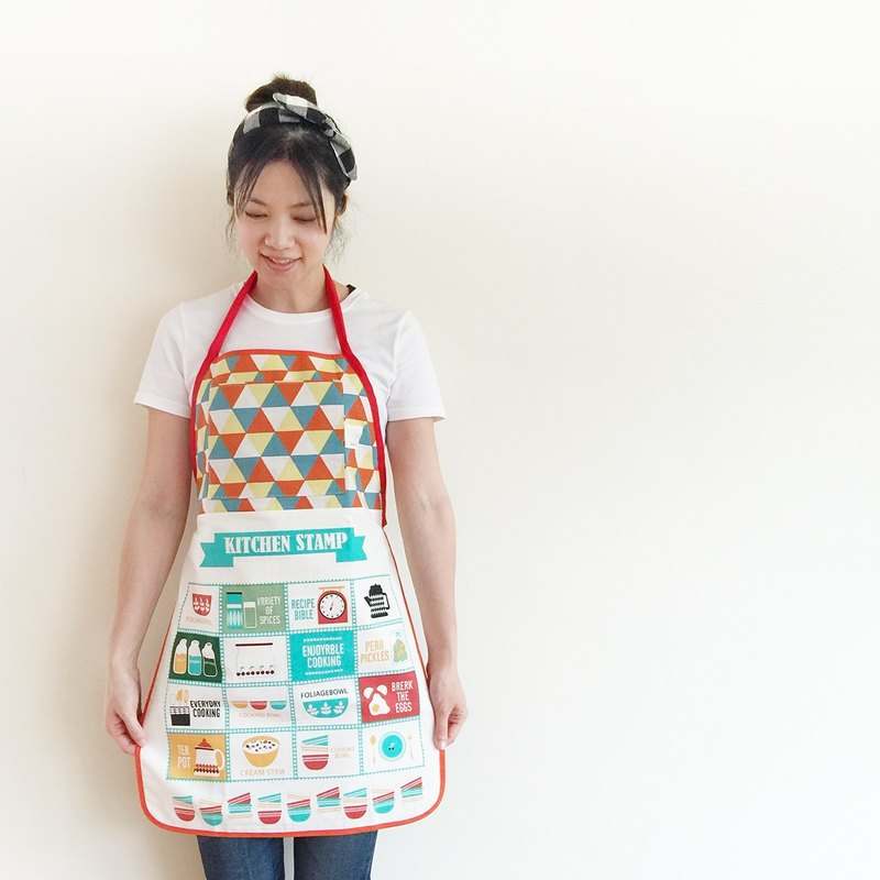 La la la [paternity] Sweet Pie Apron (adult section) / limited hand / kitchen baking a good thing