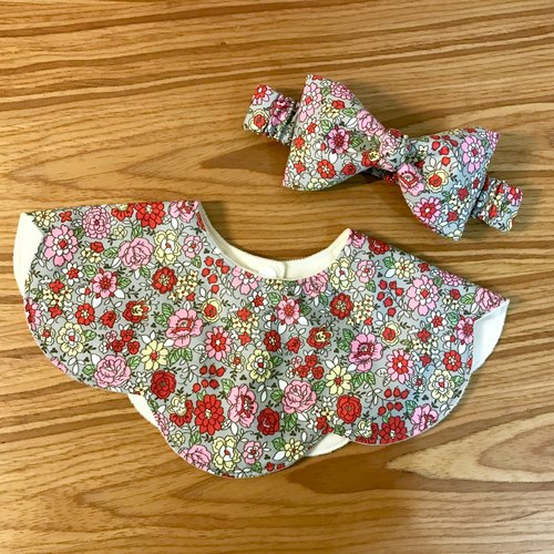 Retro Flower two-piece set newborn gift