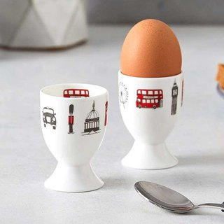 British Egg Boiled Egg Cup London Skyline