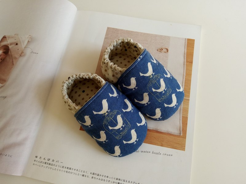 Blue Moon Bird Miriam Gifts Baby Shoes Baby Shoes