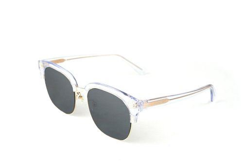 BEING fashion sunglasses - through the silver (transparent pure) / try it at home, welcome to make an appointment