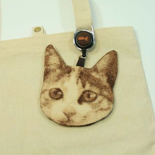 Embroidery certificate set 02 - cat head