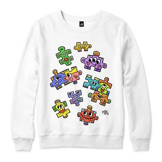 PUZZLE - White - Neutral University T