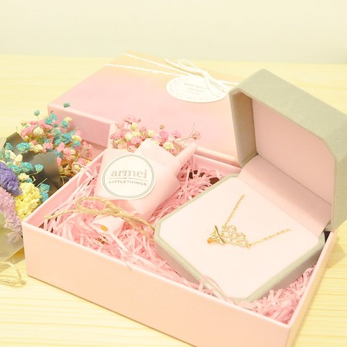 [Sweet honey gift set] Flash Bee Honey + mini dried bouquet