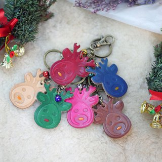 [Christmas limited offer] cute elk key ring