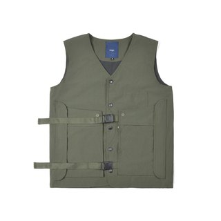oqLiq - AdHeRe - Demolition pocket door tooling vest (green)