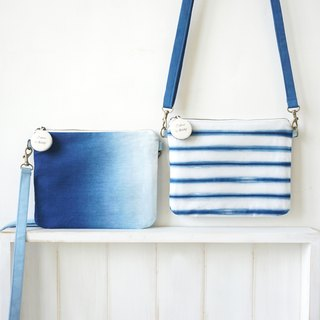 S.A x Cross Body Bag, Ocean/ Navy Blue/ Spring/ Checker/ Cell