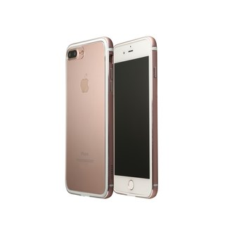 OVERDIGI LimboX iPhone7 / 8Plus double aluminum rose gold border