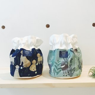 :: :: Bangs tree dorsal bucket bag _ dogs and goats
