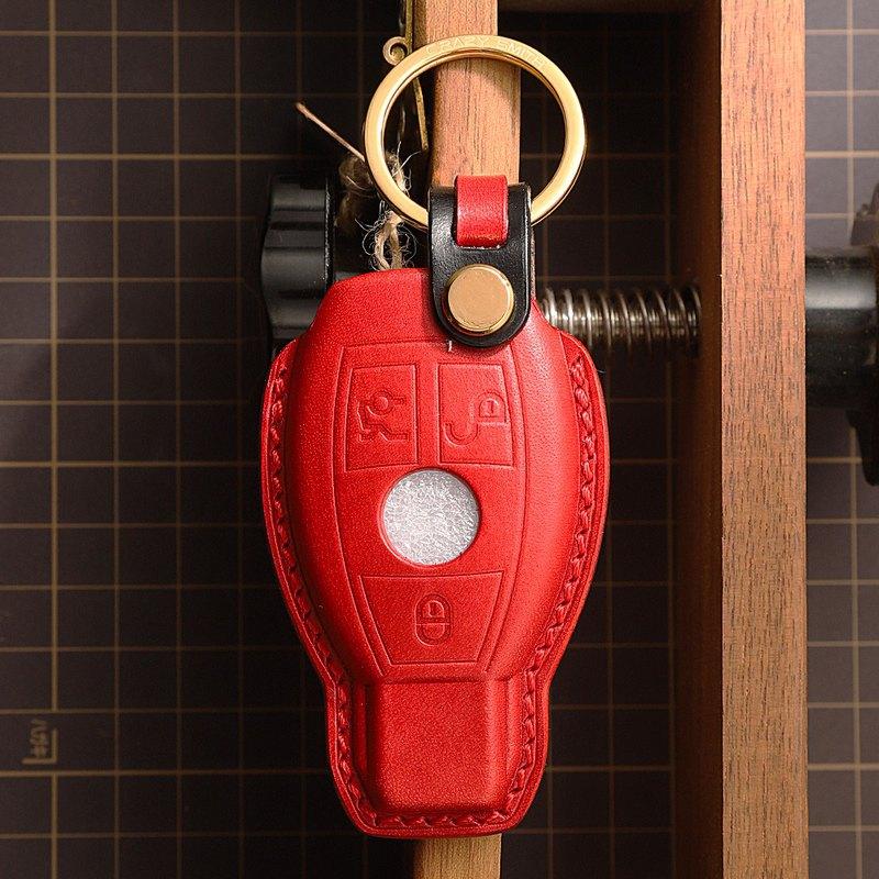【瘋匠】全手工客製 For Benz 奔馳 賓士車鑰匙皮套 C200/GLA/S級