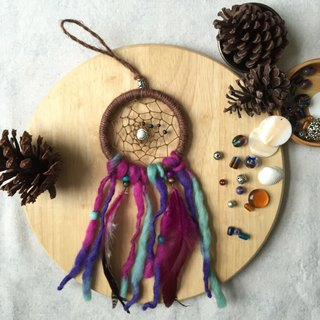 Handmade Dreamcatcher  |  10cm diameter  |  Bohemia  |  unique present idea