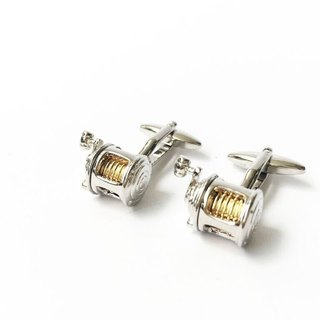 Fishing Flap Cufflinks Fishing Reel Cufflink