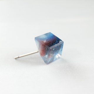 Resin Earrings / ICE CUBE 639 / Jealousy - Single