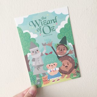 [The Wizard of Oz] postcard