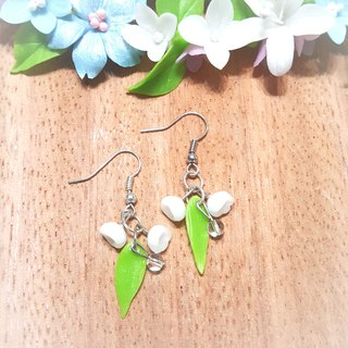 Cute wind bell earrings / ear hook / ear clip
