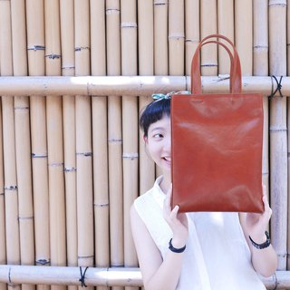 Spring pig leather bag