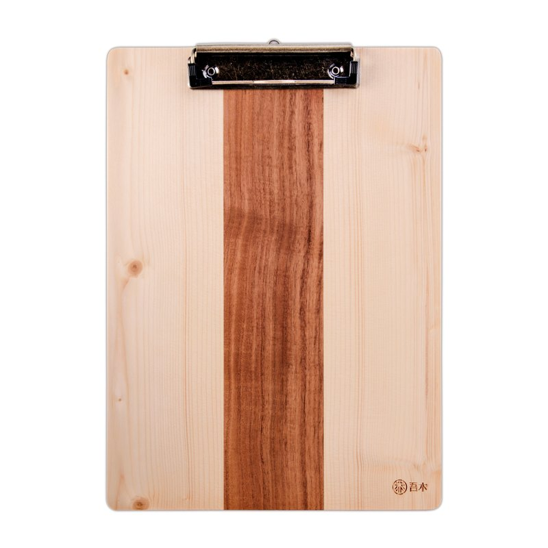 A4 board clip [with lightning engraving] manual writing board folder