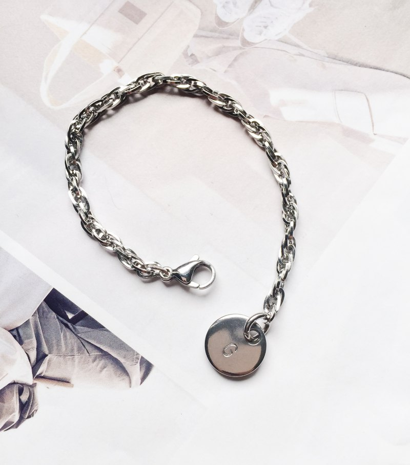La Don - Stainless Steel Bracelet - Custom Handmade Hang Tag