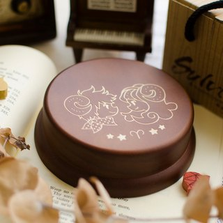[Birthday Gift, Commemorative Gift, Christmas Gift] 12 Constellation Aries / Music Box