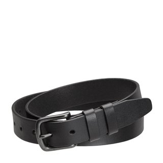 CITIZEN Leather Belt Black/Black