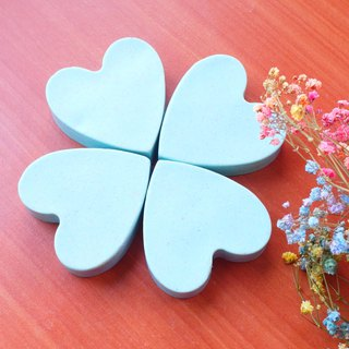 Hair soap up to - Tiffany blue hair soap gift box Valentine's Day gift birthday gift Tanabata