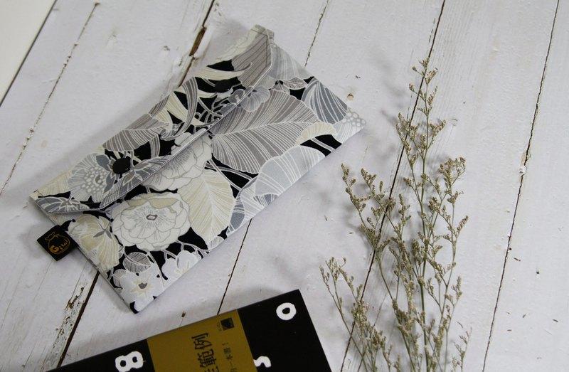 【Gi LAI】口罩收納袋/萬用小袋仔/Mini Pouch-和風大花