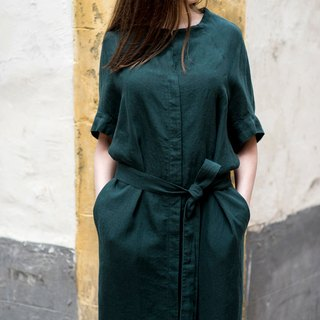 Linen Dress Motumo 16S15