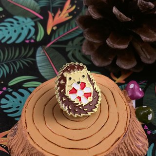 Hedgehog Lifeguard Enamel Pin
