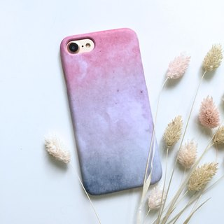 Early spring pink cherry phone shell hard shell iPhone Android