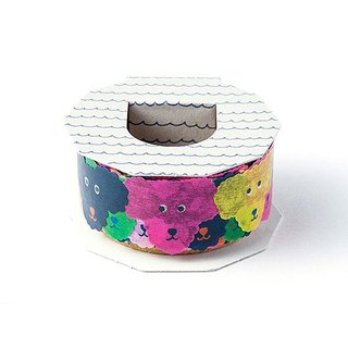 Iroha - Masking Tape - Colourful Dogs
